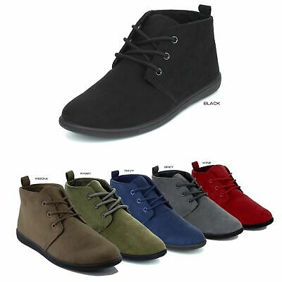 5f8f8f709376 ... NEW Women Casual Lace Up Oxford Flat Heel Ankle Boots Booties Size 5.5  - 10 2