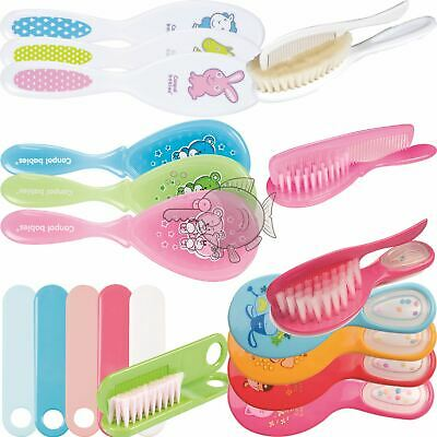 Super Soft Baby Toddler Hair Brush And Comb Set Newborn Bath Grooming Gentle