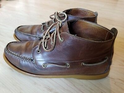a5229abf2fa BROOKS BROTHERS MEN S BROWN SUEDE DERBY OXFORD BUCKS SHOES Size 9.5 ...