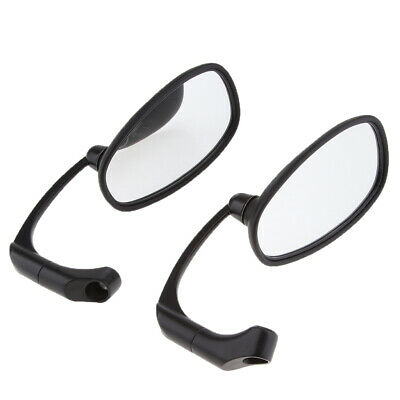 8mm Chrome Alloy Motorcycle Scooter Rearview Rear View Side Mirrors Thread