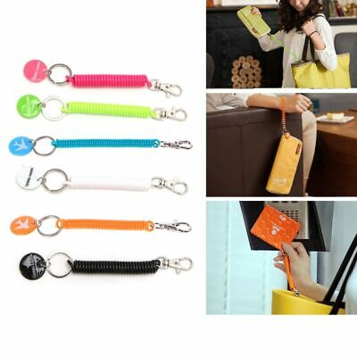 Anti-lost Strap For Key Chain Phone Passport Pouch Wallet Purse Travel Accessory