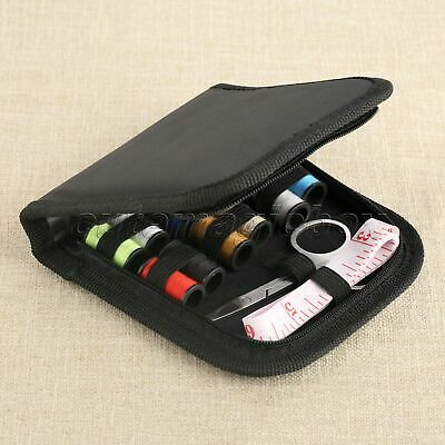 Home Travel Tools Thread Scissors Needles Pins with Case DIY Beginner Sewing Kit