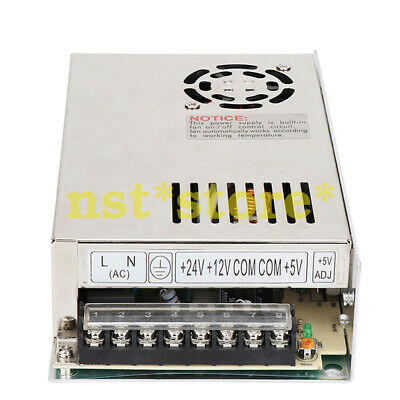 New +5V/+12V/24V three-group multi-output T-200D high-power power supply