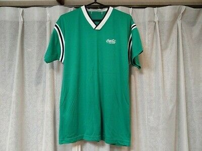90 Vintage 1997 Coca-Cola T-Shirt Green From Japan