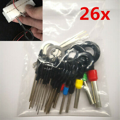 26x ATV Motorcycle Wire Terminal Removal Tool Cable Wiring Connector Pin Puller