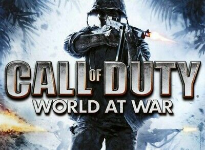 Call of Duty World at War PC COD WOW VERY GOOD, W/CASE MANUAL AND KEY CODE!!