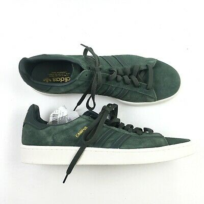 size 40 20ac2 a1bba Adidas Mens Green Walking Sneakers Campus Shoes 13 X0714712