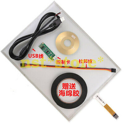 19-inch 5-wire touch screen USB interface Resistive touch screen