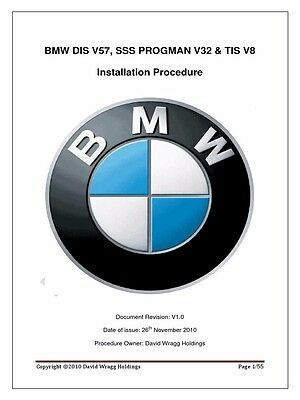 Bmw Dis V57, Sss V32 & Tis V8  Inpa Ediabas Dealer Software