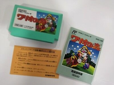 Wario no Mori Famicom Japan