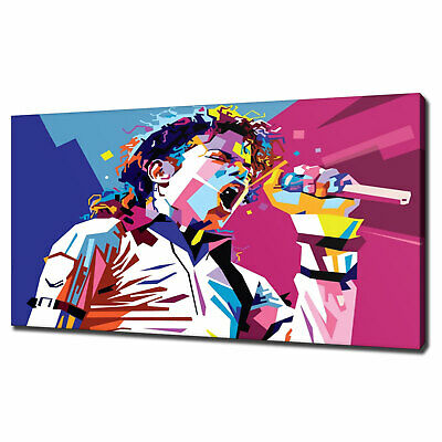 Michael Jackson Pop Art Canvas Print Picture Wall Art Variety Of Sizes Free P&P