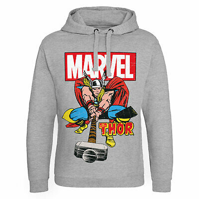 Licence Officielle Marvel Comics - The Mighty Thor Epic Capuche S-XXL Tailles