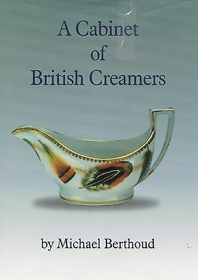 British Pottery Porcelain Creams Creamers - Makers Patterns Dates / Rare Book