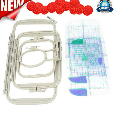 4 in1 Embroidery Frame Hoops for Brother PE700 780D Innovis Sewing Machine Parts