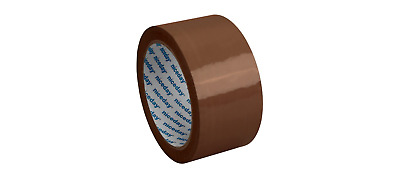 Economy Packaging Tape 50mm x 66m Brown Pack of 6