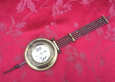 Vienna Grid Iron R A Wall Clock Brass And Steel Wall Clock Pendulum