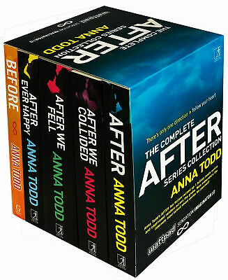 Anna Todd's The After Series 5 Books Collection Set After Ever Happy, After NEW