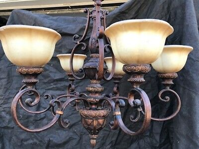 Progress Lighting 5-Light Antique Bronze Chandelier. New out of box
