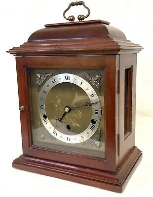 Elliott London Variable Chiming London Mantel Bracket Clock NIGHT SHUT OFF