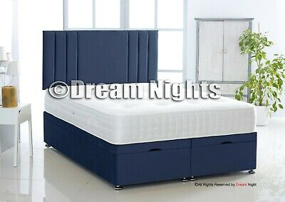 Stunning Ottoman Gas Lift Bed In Plush - 3Ft 4Ft 4Ft6 5Ft 6Ft