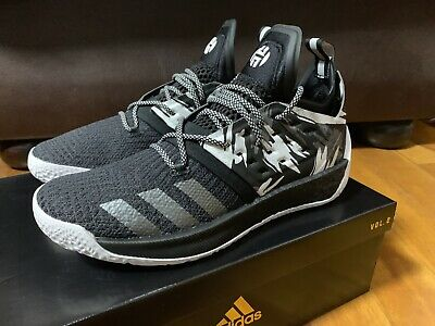 8ce80325987 ADIDAS JAMES HARDEN Vol 2 Basketball Shoes Sz Us 11 Jordan Kobe Lebron Kd  Curry -  169.00