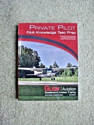 GLEIM PRIVATE PILOT FAA Written Test Knowledge Exam Study Book, 2019 Edition