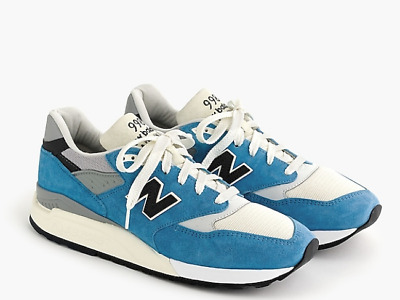 New Balance for J.Crew 998 sneakers in Bright Blue Size 11.5 4910973127