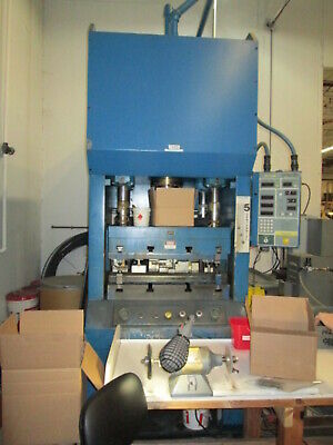 Greenerd Model HCT-100 100 Ton Gap Frame Hydraulic Press W/Digital Press Control