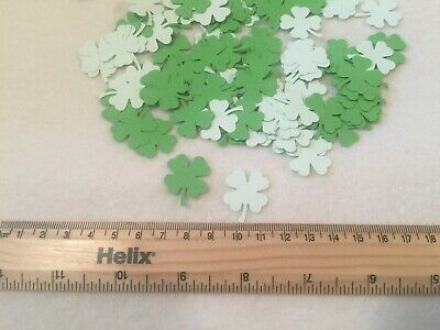 100 Shamrock Four Leaf Clover Luck of the Irish St Patrick's Day Table Confetti