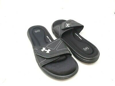 b7e5fd3c5 NEW! WOMEN S UNDER ARMOUR Ignite VII Slides - Black 39P sm -  15.99 ...