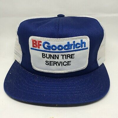 de1286edd0ef67 Vintage BF Goodrich Patch Snapback Trucker Hat Cap 80s 90s VTG USA  Swingsters