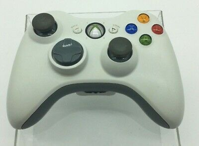 Official Microsoft XBOX 360 Wireless Controller - White B8