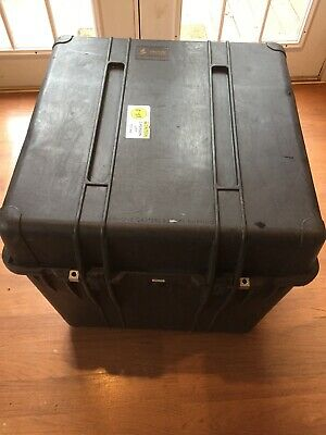 "Pelican Model 0370 Storage Case ~ 24"" Cube With Foam Insert.. Free Shipping"