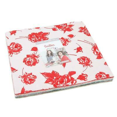 Smitten Layer Cake, 42-10 inch Precut Fabric Quilt Squares by Bonnie & Camille