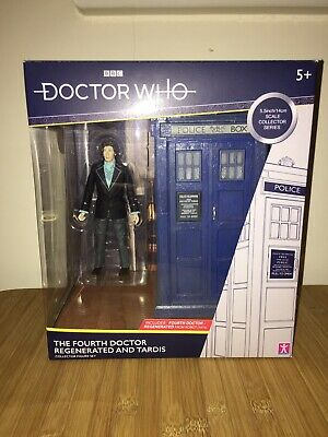 Dr Who Fourth Doctor & Tardis Set B&m Brand New Unopened Classic Set