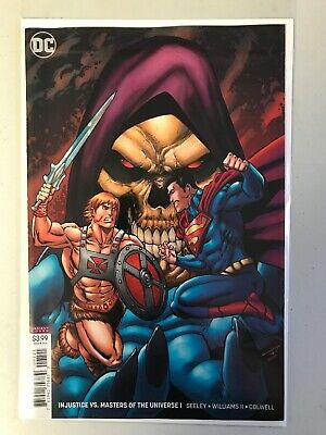 Injustice Vs Masters Of The Universe #1B He Man Skeletor Variant Cover