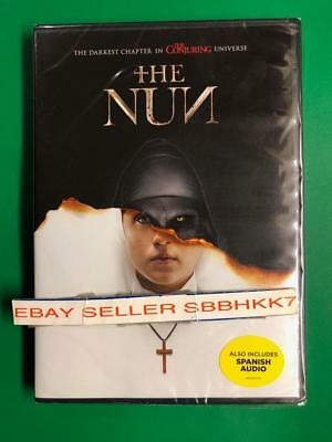 The Nun DVD **AUTHENTIC DVD READ** Brand Brand New Free Shipping With Tracking