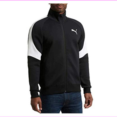 38203b9b8 EVERLAST JACKET YOUNG Men s Warm Up Track Full Zip Core White Black ...