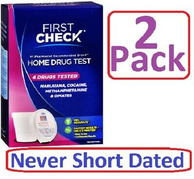 First Check Home,  4 DRUG TEST 1ST 06904 - 2 Pack