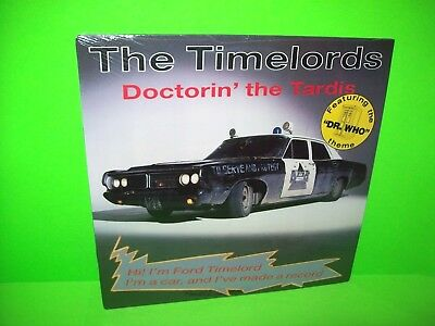 """The Timelords – Doctorin' The Tardis SEALED 1988 Vinyl 12"""" EP Record Dr. Who"""