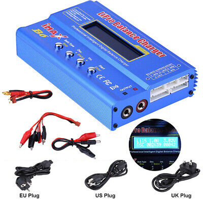 USA IMAX B6 LCD Screen Digital RC Lipo NiMh Battery Balance Charger R7D7 NEW