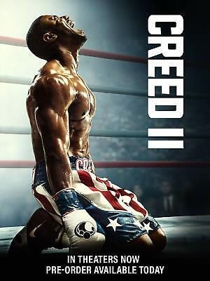 Creed II Blu-ray Only, Please read