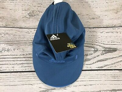 low priced 93426 8ce54 ADIDAS CLIMACOOL RUN Adjustable Strap Baseball Cap Hat One Size Fits Youth