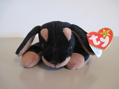 Rare 1996 Ty Doby Beanie Baby With Errors Perfect Shape 00e61487802
