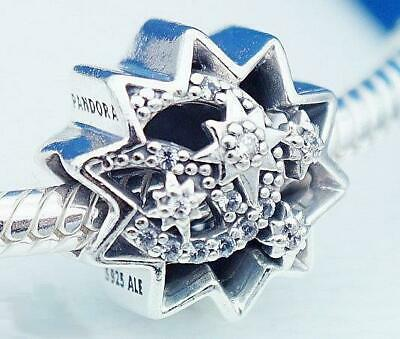 AUTHENTIC 😍 PANDORA 😍 silver CHARM Disney When You Wish Upon A Star 797490NBL