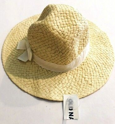 92e47c9e9 OLD NAVY STRAW hat fedora infant size 0-6 months - $9.99 | PicClick