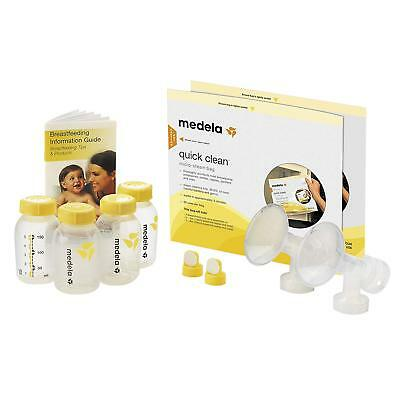 SEALED Medela Breast Pump Accessory Set with 24mm Flanges