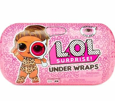 Authentic LOL Surprise! Eye Spy Under Wraps Ser 4 Wave 2 Doll LOL Capsule by MGA