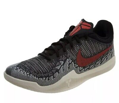5c36ff4a1269 MEN S NIKE KOBE MAMBA RAGE BASKETBALL SHOE BLK BRIGHT CRIMSON 908972 060 Sz  10