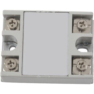 SSR-40AA 40A Single Phase Solid State Relay 80-250V AC / 24-380V AC,white H6Q3